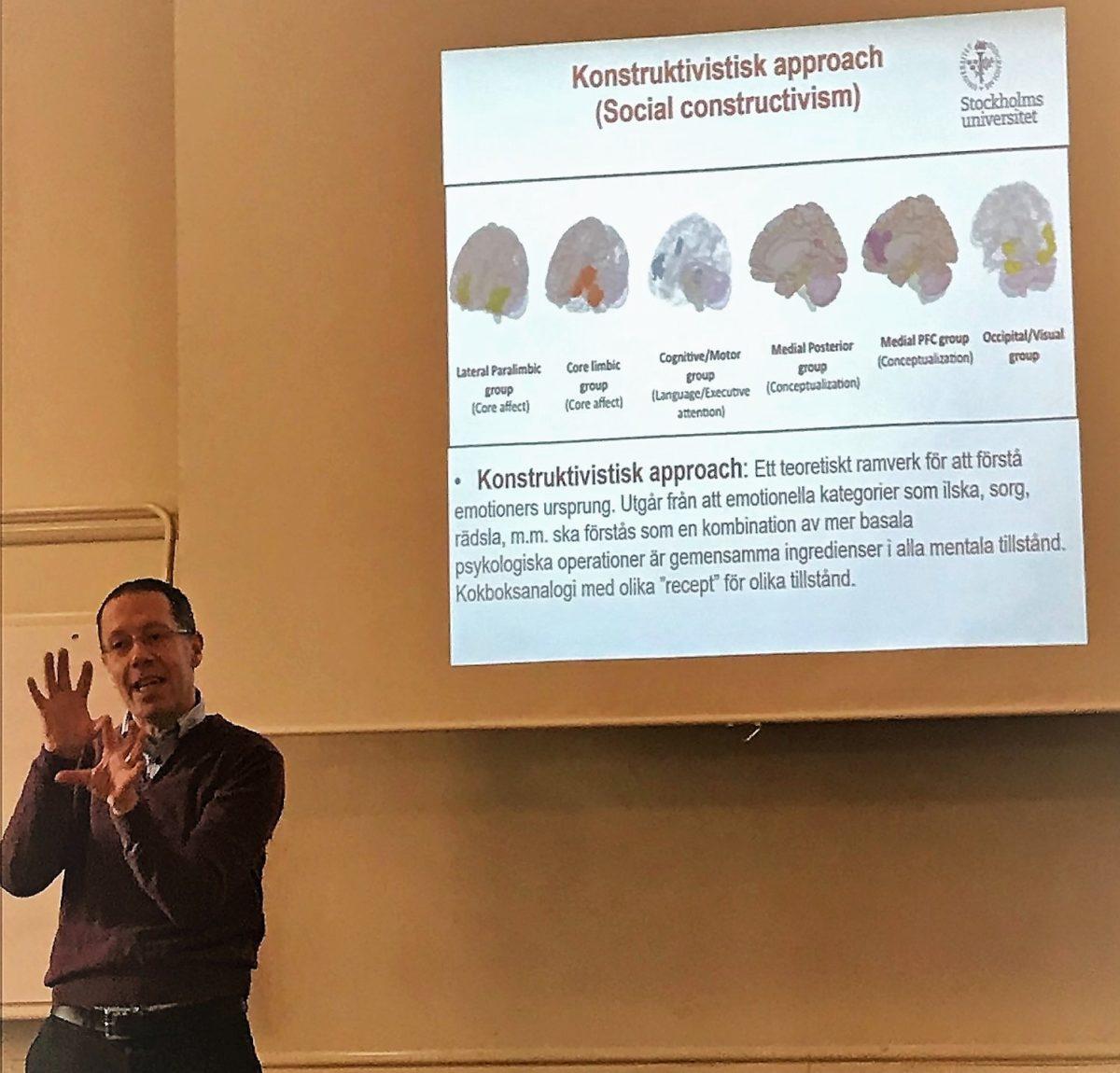 Den nya emotionsforskningen, konstruktivism och performancebaserade personlighetstester